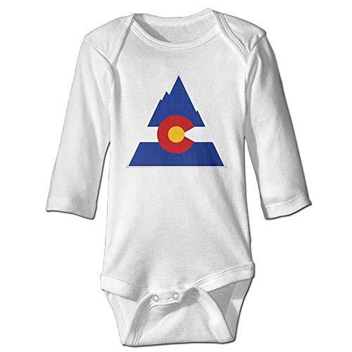 SDGSS Babybekleidung Bodysuits Funny Vintage Unisex Colorado Baby Onesie Baby Boys
