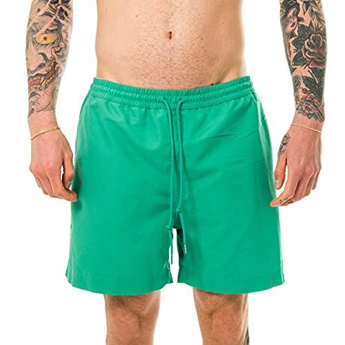 Carhartt Costume Uomo WIP Chase Swim Trunks Kingston/Gold I026235.0ar