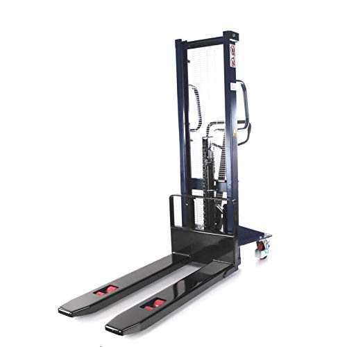 Hochhubwagen Handstapler Hydraulik-Stapler | Tragkraft 1,0t / 1000 kg - Hubhöhe 1,2m / 1200 mm - Gabellänge 1150 mm