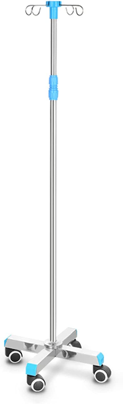 Iv Pole Infusion Stand Drip Clinic Wheels with Profes Now depot free shipping