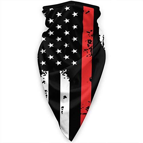 Extinción de incendios Bandera americana Línea azul y roja