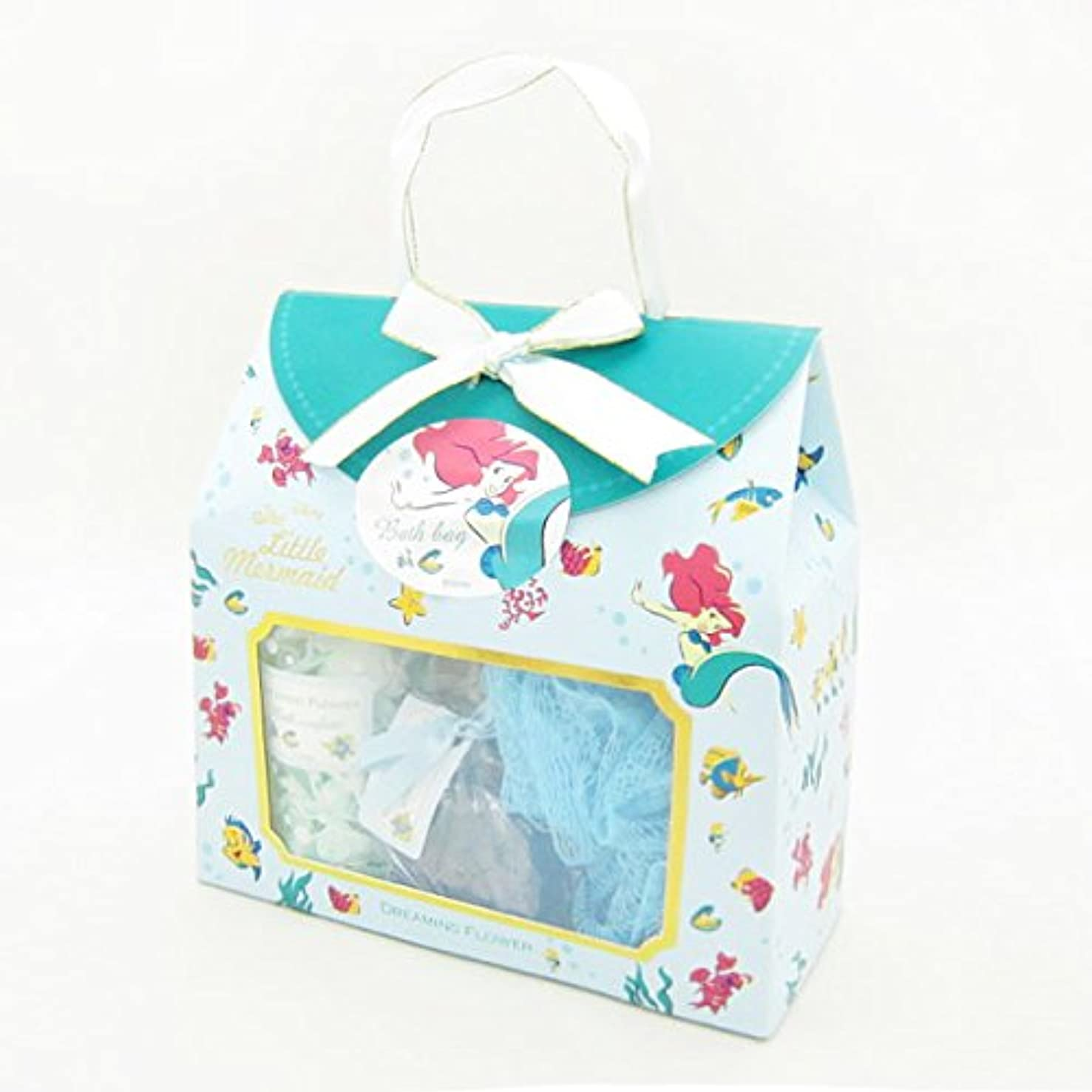 単語品震えディズニーフレグランスコレクション バスバッグト5点セット アリエル ドリーミングフラワー(透明感のあるムスクの香り)