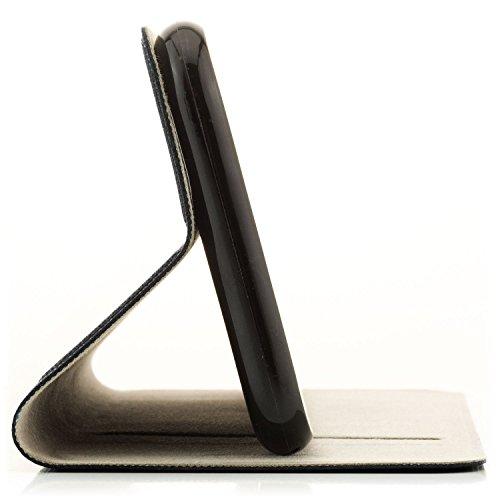 zanasta Tasche kompatibel mit Huawei Nova 2 Plus Hülle Flip Case Schutzhülle Handytasche mit Kartenfach Blau - 3