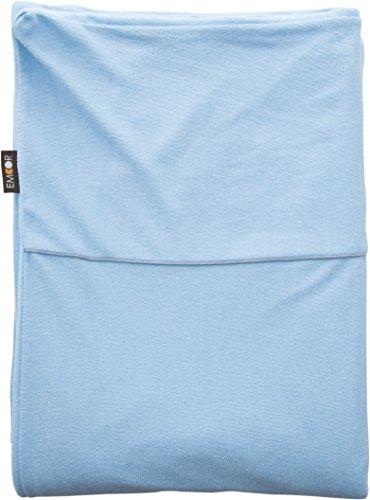エムール 片面防水 掛け布団カバー ダブル 約190×210cm ブルー