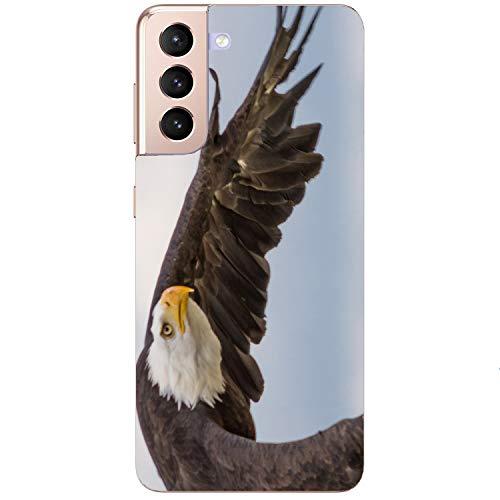 Generisch Funda blanda para teléfono móvil con águila y águila de mar para Samsung Apple, Huawei Honor Nokia One Plus Oppo ZTE Xiaomi Google, tamaño: Apple iPhone 7/8/SE 2020