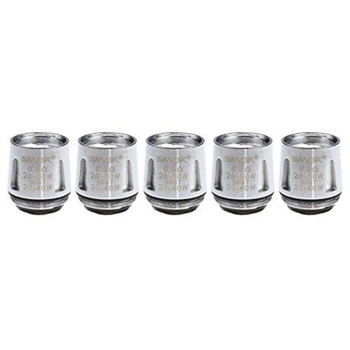 SMOK V8 Baby-Q2 Coils, 0,6 Ohm, Riccardo Verdampferköpfe für e-Zigarette, 5 Stück