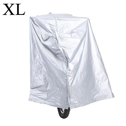 Fiets Hoes, Fiets Regenjas Hoes, Motorfiets Racefiets Waterdicht Anti Stof Regen UV Bescherming Cover -XL XL
