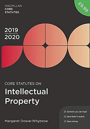 Core Statutes on Intellectual Property, 2019-20