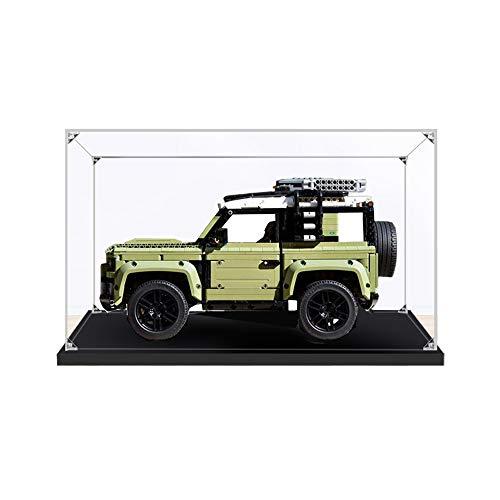 ZHLY Teca Acrilico Vetrina per Lego 42110, Casella di visualizzazione Compatibile per Lego 42110 Land Rover Defender (Non Incluso Modello)