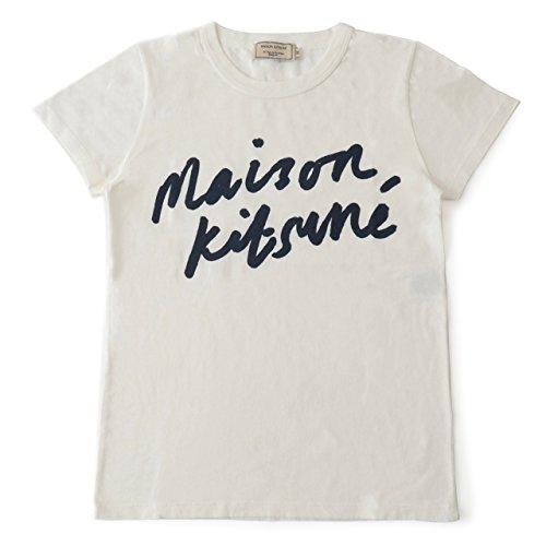 MAISON KITSUNE メゾンキツネ 04316 AW00104KJ K0005 クルーネック 半袖 Tシャツ カットソー 丸首 カラーLA...