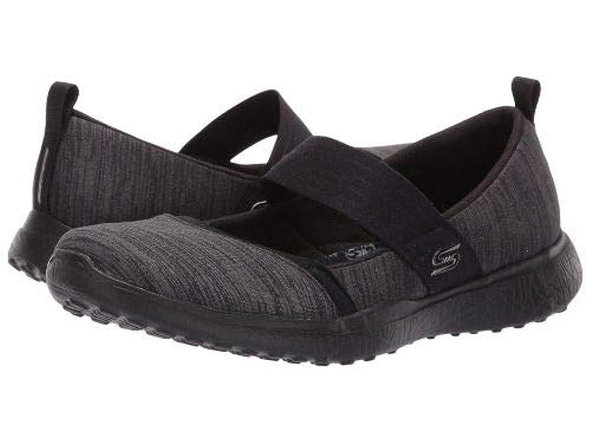 座標黒人セットアップSKECHERS(スケッチャーズ) レディース 女性用 シューズ 靴 フラット Microburst - Tender Soul - Black [並行輸入品]