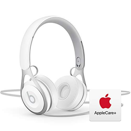 Beats EP Wired Headphones - White with AppleCare+ Bundle