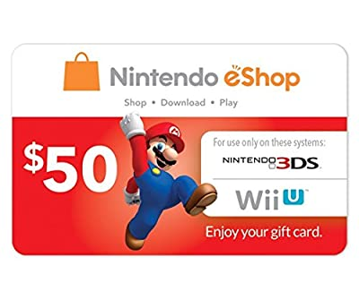 Nintendo Eshop Prepaid Card $50 for 3ds or Wii U by Unknown