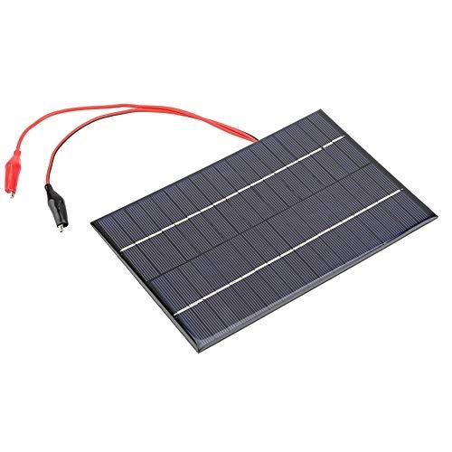 Mini Panel Solar - Mini Módulo De Panel Solar Pequeño, 4.2W 18V DIY Panel Solar Flexible Módulo Cargador De Batería Con Clip For Energía De Energía Solar