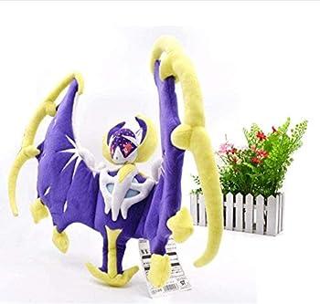 NC56 Plush Toys Alola Solgaleo Cosmog Lunala Animal Stuffed Peluche Plush Toy Anime Dolls 53Cm