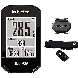 Bryton 420T Rider con cadencia y Banda Cardio