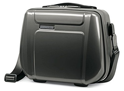 PIQUADRO Beauty case da cabina in policarbonato Odissey nero/grigio BY2333OY/NGR
