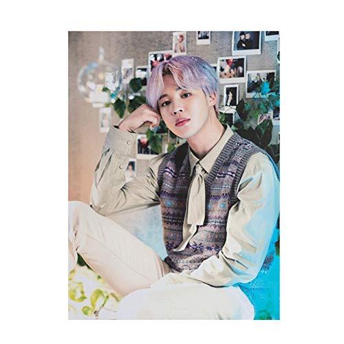 ALTcompluser Kpop BTS 5th MUSTER Poster Foto Plakat Aufkleber, Bangtan Boys Photo Wand Deko Zimmer für BTS Army(JIMIN)