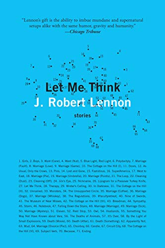Image of Let Me Think: Stories