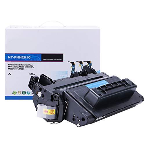 JZMY Cartucho de tóner para HP LaserJet Enterpnise Flow MFP M630Z M604N M605DN M605N M606DN M603DN M603F M625DW Modelo CF281A/81A Service