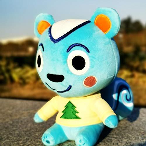 Animal Crossing New Horizons Marsha Dom Ruby Hopkins Filbert Soft Plush Toy Stuffed Doll Kid Birthday Gifts 8in/20cm Filbert2