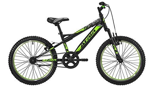 Atala Modello 2020 Sniper Bicicletta MTB per Bambino 1V Ruota 20' Colore Nero/Verde