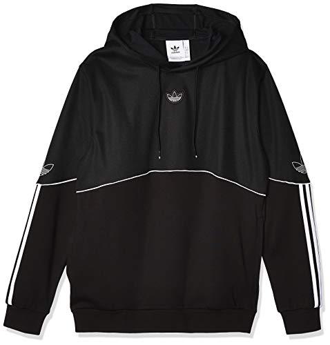 adidas Herren Outline HDY FT Sweatshirt, Black, M