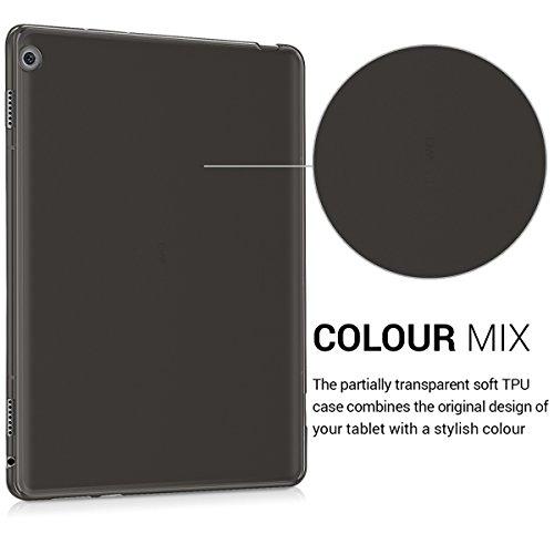 kwmobile Huawei MediaPad M3 Lite 10 Hülle - Silikon Tablet Cover Case Schutzhülle für Huawei MediaPad M3 Lite 10 - Schwarz - 3