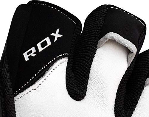 RDX Rindsleder Fitness Handschuhe - 8