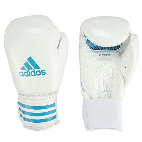 adidas Fpower Boxing with Climacool System White/Blue Size 14oz