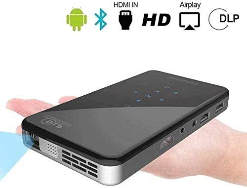 Mini Projector Draagbare Dlp Projector Home Theater Projectoren met Ondersteuning Wifi Draadloos Scherm Deel 1080p Home Theater Video