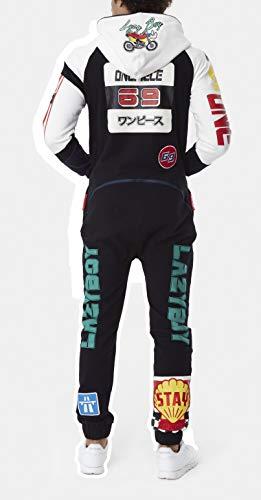 OnePiece Damen Jumpsuit Unisex Moto, Schwarz (Black) - 4