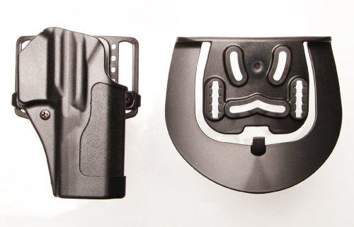 Blackhawk! Étui de Dissimulation CQC Standard, Mixte, 415609BK-R, Noir, Size 09 - H&K USP Compact 9/40