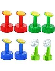Bottle Top Sprinkler waterers Garden Vattning PVC Head växt Bevattning tillbehör till plastflaskor 8st, för trädgårdsredskap