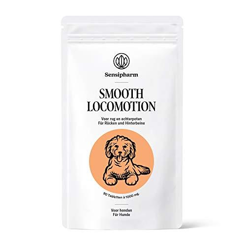 Sensipharm Smooth Locomotion für Hunde 90 Gelenktabletten - Hilft Natürlich bei Rücken, Hinterhand, Hinterbeine, Muskeln, Gelenke