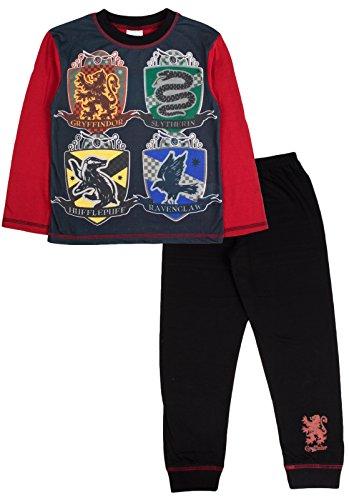 Generic Harry Potter Hogwarts Schule Logo Jungen Schlafanzug - Mehrfarbig, 5-6 years
