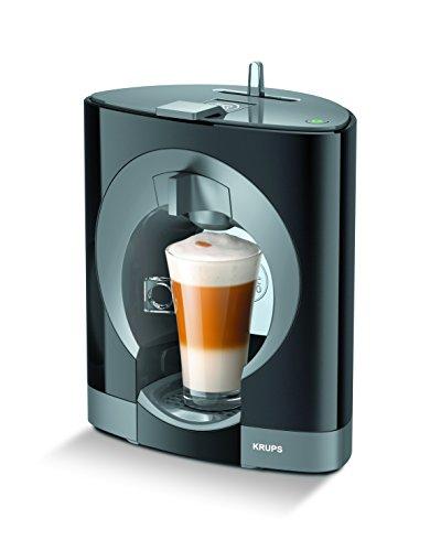 Krups Dolce Gusto Oblo KP1108 - Cafetera de cápsulas, 15 bares de presión, color negro