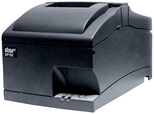 Star Micronics, SP742ME GRY US, Impact Receipt Printer, Ethernet, Auto Cutter, Internal Power Supply with Power Cable Incl.