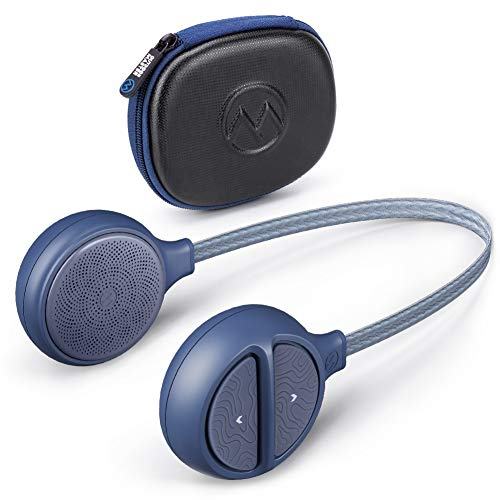 OutdoorMaster Wireless Bluetooth 5.0 Helmet Drop-in Headphones HD Speaker Chip Compatible with Audio-ready Helmet with Built-in Mic for Skiing & Snowboarding Easy Control Buttons IP45 Sweat-resistance