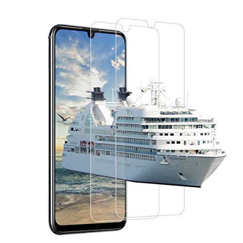 [2 Stück]Schutzfolie für Huawei P smart 2019 / Honor 10 lite/Honor 8A, Frei von Kratzern Fingabdrücken & Öl Panzerglasfolie, 9H Festigkeit, HD Bildschirmschutzfolie