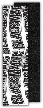 Black Magic Skateboard Griptape A Black 5 Pro Grip 9 x 33 product image