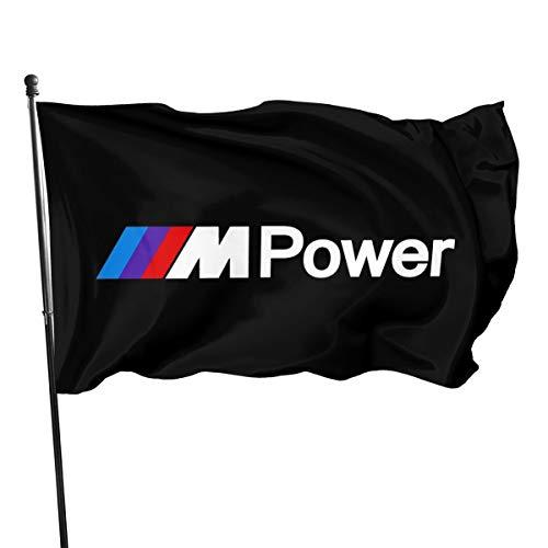 B-M-W Power Fahnen/Flagge/Gartenfahne/Dekorativer-Verf¨¹gbar In Allen Jahreszeiten?90 X 150 cm?.