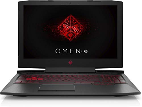 """HP OMEN 15-ce020ca 15.6"""" Gaming Laptop, Full-HD IPS Display, Intel Core i7-7700HQ Quad-Core 2.8GHz, NVIDIA GTX 1050 2GB, 2TB SATA, 8GB DDR4, 802.11ac, Bluetooth, Win10H (Renewed)"""