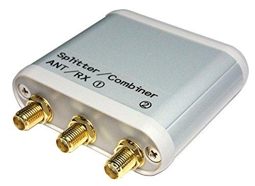 受信専用・アンテナ分配/混合器(Splitter/Combiner)【10kHz~1.2GHz】【RTL-SDR対応】【SMA-J仕様】【2分配/2混合】