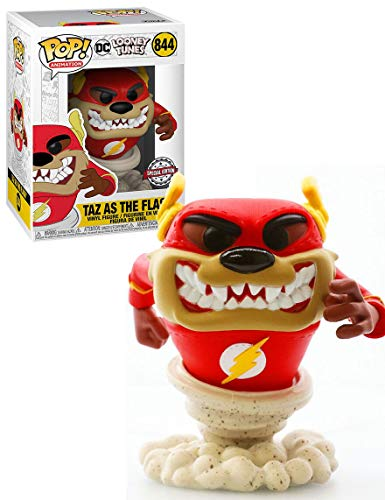 POP Funko DC Looney Tunes 844 Taz as The Flash Special Edition …