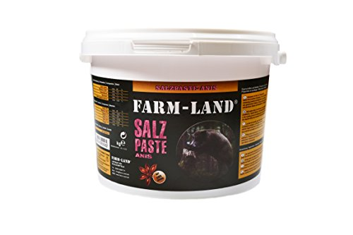 Farmland Salzpaste 2,5 kg Salzlecke Lockmittel 6,36 €/kg (Geschmack Anis)