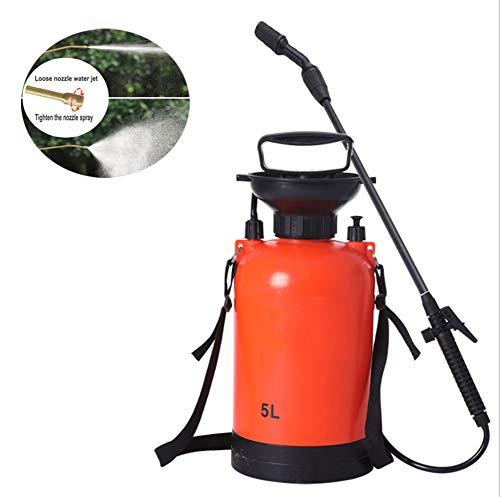 KEKE Pulverizador De Presión 5L Tipo De Presión De Aire del Rociador De Jardín Ultra Capacidad Atomizador para Herbicidas, Pesticidas, Fertilizantes, Soluciones De Limpieza Suave Y Lejía