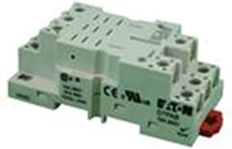 Eaton D7PAB General Purpose Relay Mount, DIN Rail/Panel Mounting Style, For Use With D7PF3