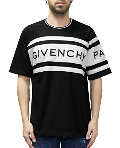 Givenchy Contrasting Panels Oversized T-Shirt (XS)