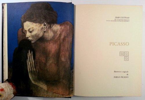 Picasso Le Potomak Le Grand Ecart illustré par des reproductions originales de Picasso et des dessins de Jean Cocteau.